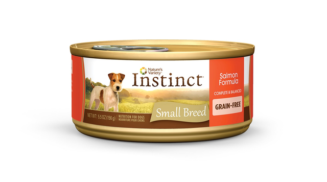 Nature's Variety Instinct Small Breed Grain-Free Salmon Formula Canned Dog Food