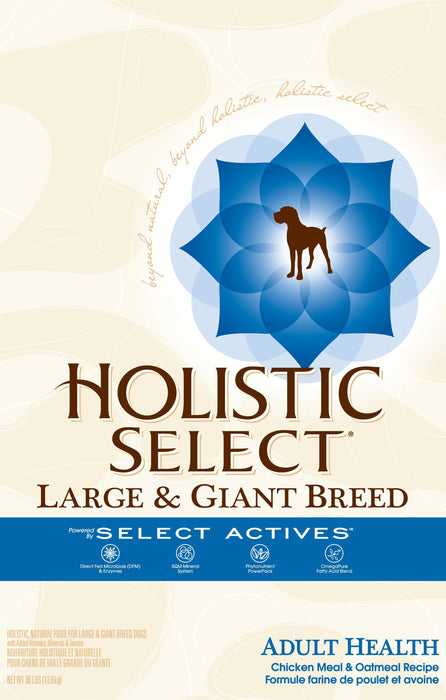 Holistic Select NaturalLarge and Giant Breed Chicken and Pork Meal Recipe Dry Dog Food