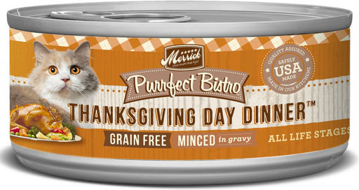 Merrick Purrfect Bistro Thanksgiving Day Dinner Grain Free Canned Cat Food