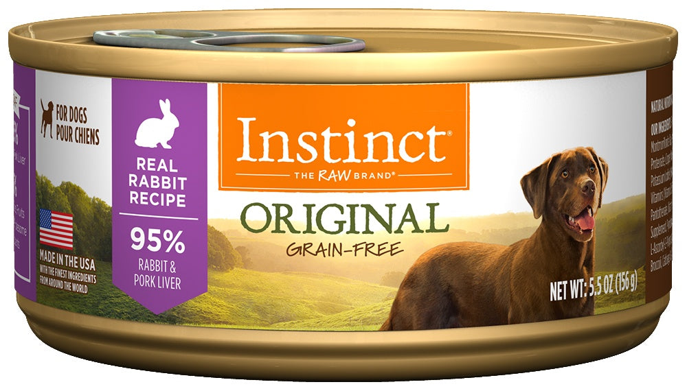 Instinct Grain-Free Rabbit Formula Canned Dog Food