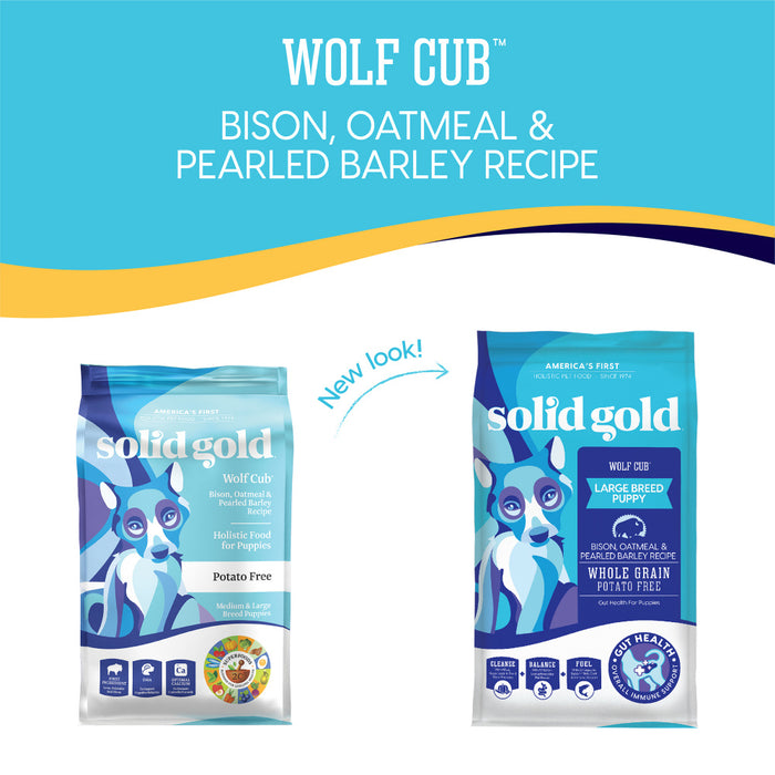 Solid Gold Wolf Cub with Bison Dry Puppy Food