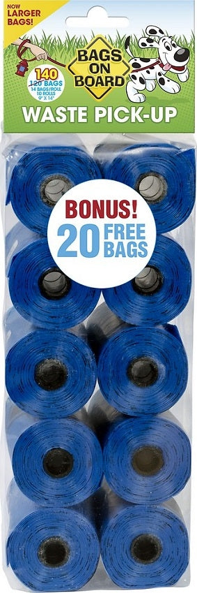 Bags on Board Blue Waste Bags Refill Pack