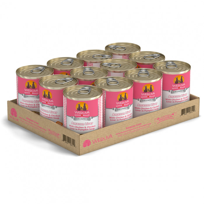 Weruva Amazon Liver with Chicken, Chicken Liver & Pumpkin Soup Canned Dog Food