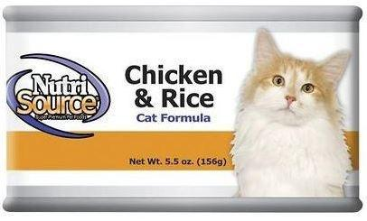 NutriSource Cat and Kitten Chicken and Rice Canned Cat Food