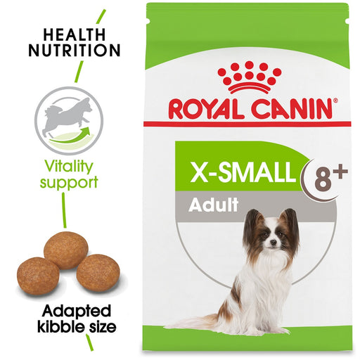 Royal Canin Size Health Nutrition X-Small Mature 8+ Dry Dog Food