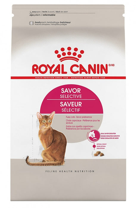 Royal Canin Feline Health Nutrition Selective Savor Selective Dry Cat Food