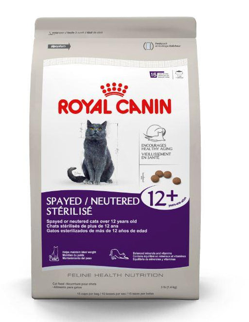 Royal Canin Spayed or Neutered Senior 12+ Dry Cat Food
