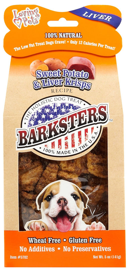 Loving Pets Barksters Sweet Potato Krisps for Dogs