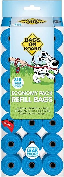 Bags on Board Waste Bags Refill Pantry Pack