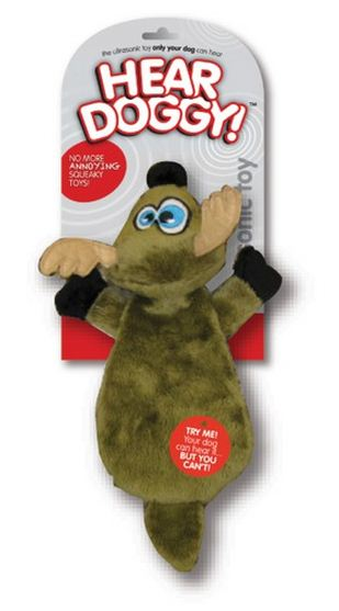 Hear Doggy Flattie Dog Toys