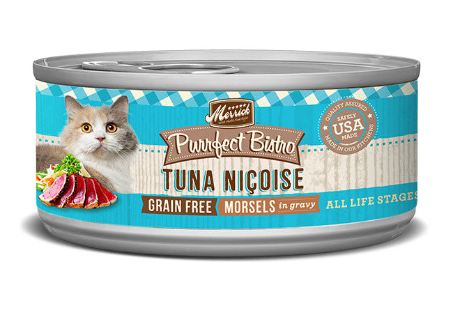 Merrick Purrfect Bistro Tuna Nicoise Grain Free Canned Cat Food