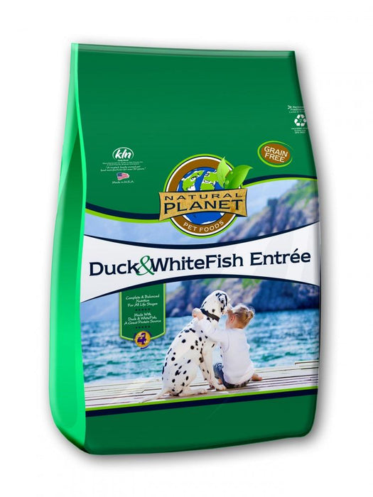 Natural Planet Duck and Whitefish Entree Grain Free Dry Dog Food