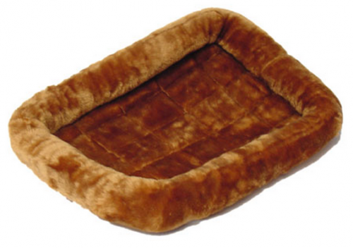 Midwest Quiet Time Cinnamon Fleece Pet Bed