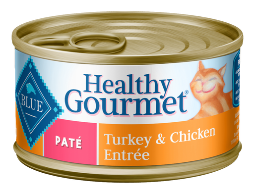 Blue Buffalo Healthy Gourmet Adult Turkey and Chicken Entree Canned Cat Food