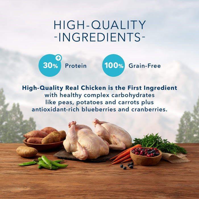 Blue Buffalo Wilderness Grain Free Healthy Weight High Protein Chicken Recipe Large Breed Adult Dry Dog Food