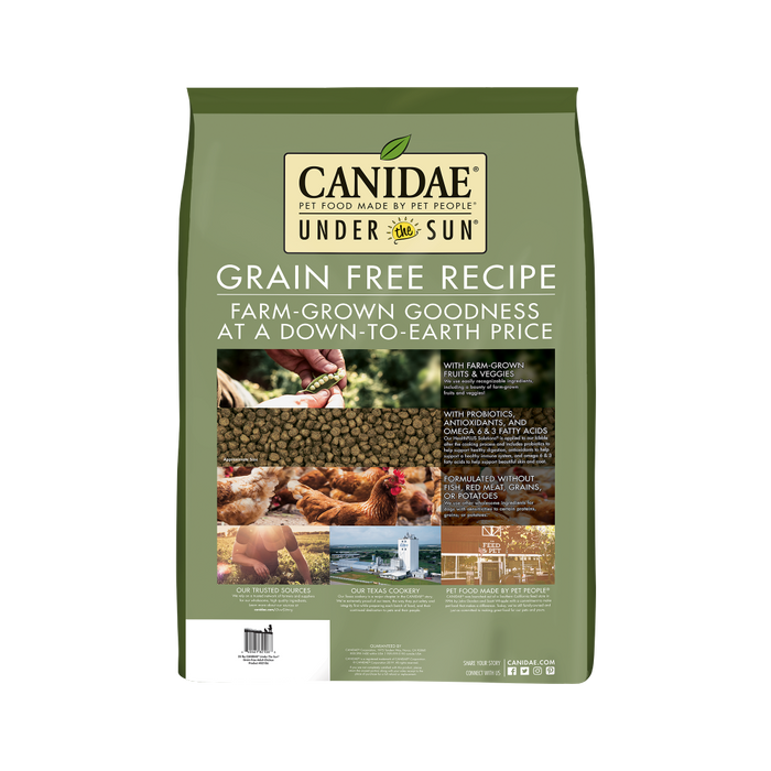 Canidae Under the Sun Grain Free Adult Chicken Recipe Dry Dog Food