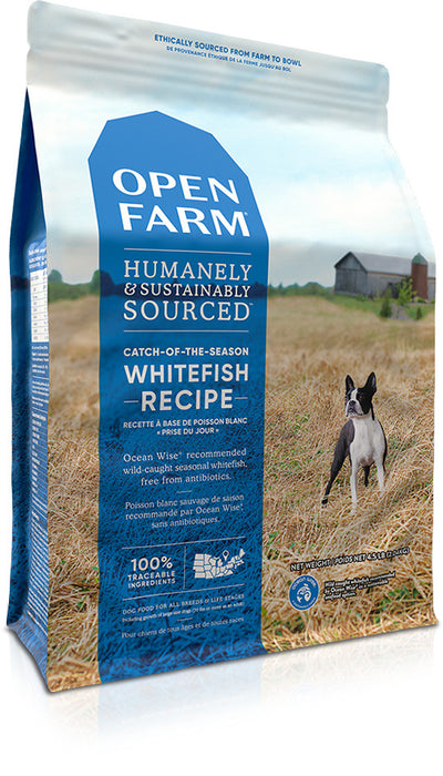 Open Farm Grain Free Catch of the Season Whitefish and Green Lentil Recipe Dry Dog Food