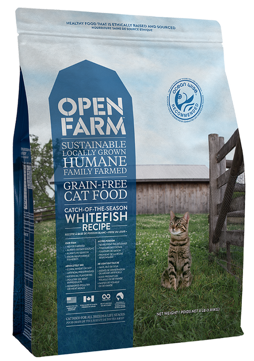 Open Farm Grain Free Catch of the Season Whitefish Recipe Dry Cat Food