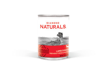 Diamond Naturals Lamb Dinner for Adult Dogs and Puppies Canned Dog Food