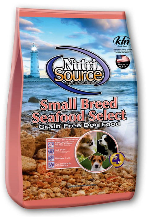 NutriSource Grain Free Small Breed Seafood Select Dry Dog Food