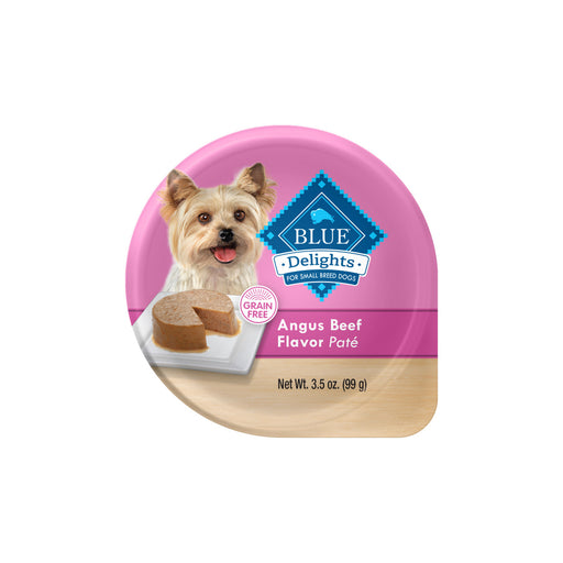 Blue Buffalo Blue Delights Small Breed Angus Beef Pate Dog Food Cup