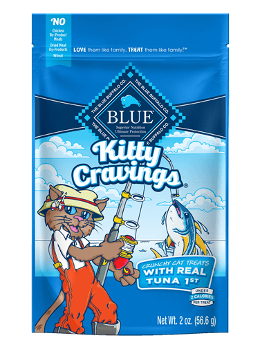 Blue Buffalo Kitty Cravings Tuna Crunchy Cat Treats