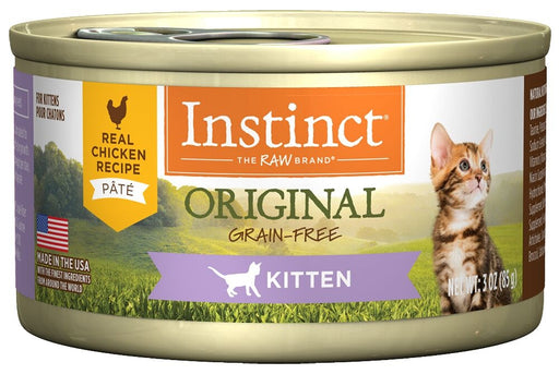 Instinct Kitten Grain Free Chicken Recipe Natural Canned Cat Food