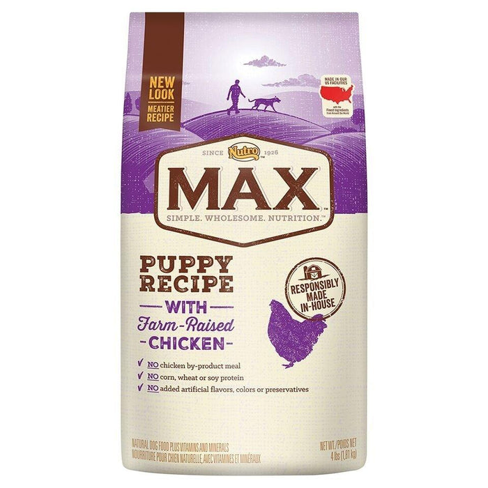 Nutro Max Puppy Recipe With Farm Raised Chicken Dry Dog Food
