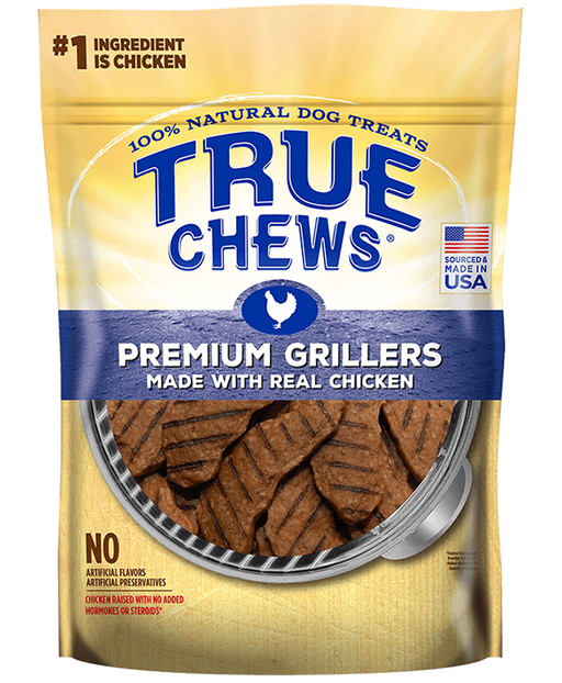 True Chews Premium Grillers with Real Chicken Dog Treats