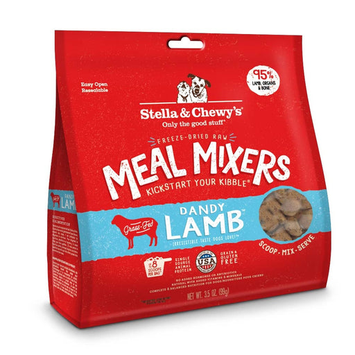 Stella & Chewy's Freeze Dried Raw Dandy Lamb Meal Mixers Grain Free Dog Food Topper