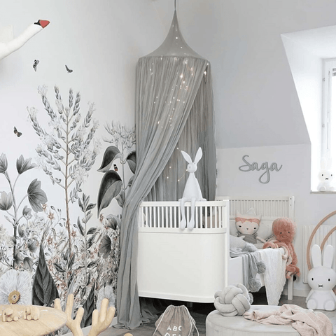 crib canopy for baby nursery