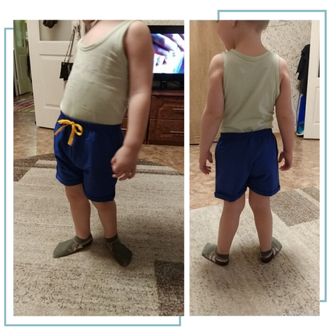 Kids Summer Cotton Shorts