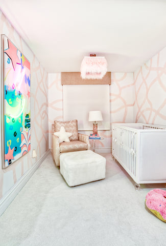 Nursery ideas girls nursery
