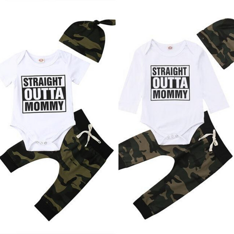 Baby Camouflage Outfit