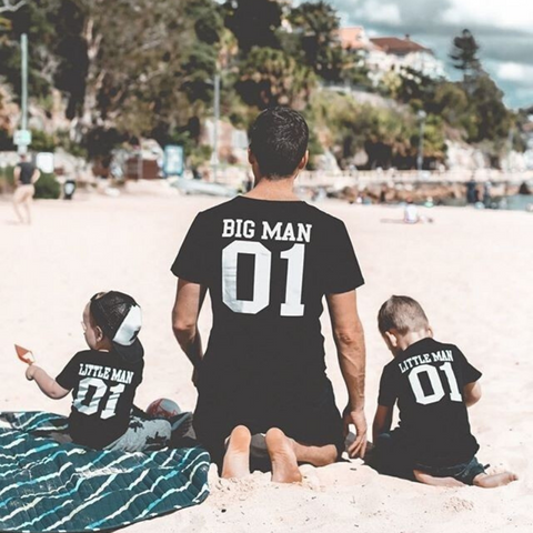 Matching Father and Son T-shirt