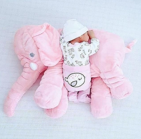 elephant pillow toy