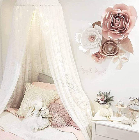 BABY LACE CANOPY