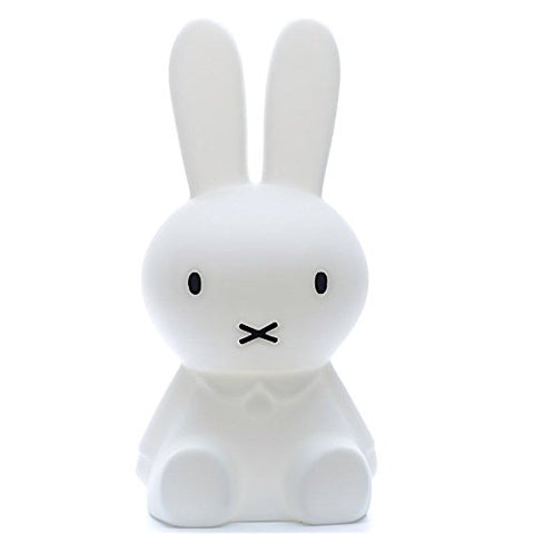 "Dick Bruna - LED Lamp with Dimmer - Miffy XL (20"" Inches) - Polyethylene - Cozy Nursery"