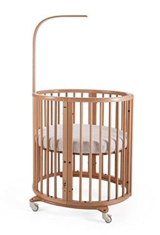 Stokke Oval Mini Baby Crib - Cozy Nursery