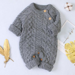 Winter Handmade Knit Jumpsuit