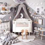 COT Bed Canopy - Cozy Nursery