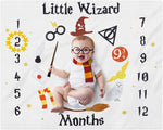 Harry Potter Milestone Blanket