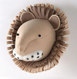 Felt Animal Head - Cozy Nursery