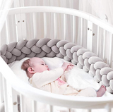 4 BRAIDS CRIB BUMPER - Cozy Nursery