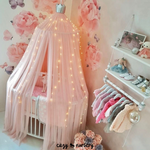 Princess Bed Canopy Mosquito Net - Cozy Nursery