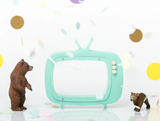 tv-shaped piggy bank