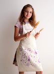 KIDS COOKING APRON for 7-12 year old - Cozy Nursery