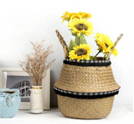 Seagrass Baskets with pom poms