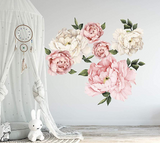 Peony Rose Wall Stickers