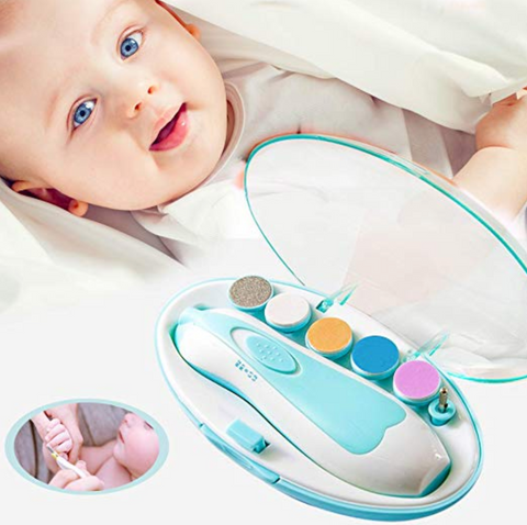 Portable Electric Safe Baby Nail Trimmer - Cozy Nursery